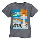 ''Tomorrowland'' Tee for Adults by Michael Murphy