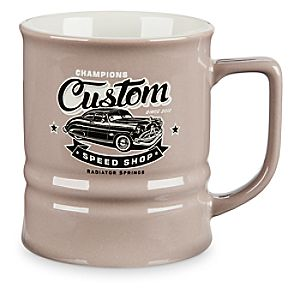 Champions Custom Speed Shop Mug - Cars Land