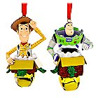 Woody and Buzz Lightyear Figural Ornament Set