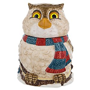 Friend Owl Happy Holidays Sugar Bowl - Bambi
