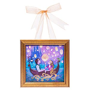 Tangled ''Message from Home'' Framed Giclée by Jeremiah Ketner - Hanging Miniature