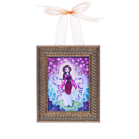 Mulan ''The Late Blossoms'' Framed Giclée by Jeremiah Ketner - Hanging Miniature