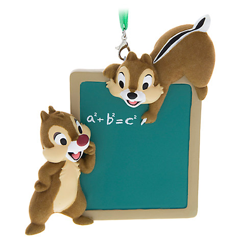 Chip 'n Dale Teacher Ornament