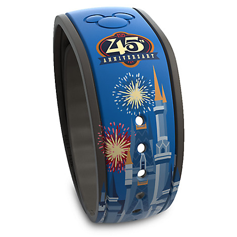 Magic Kingdom 45th Anniversary Disney Parks MagicBand - Limited Edition