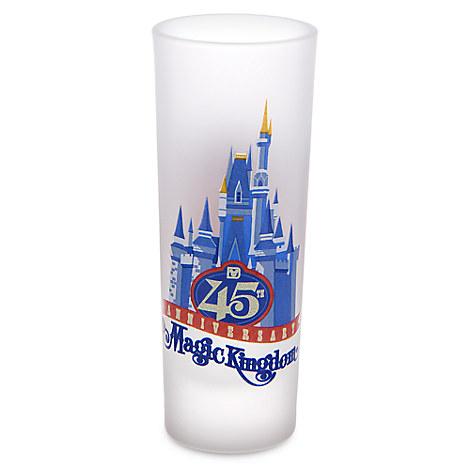 Magic Kingdom 45th Anniversary Mini Glass - Walt Disney World