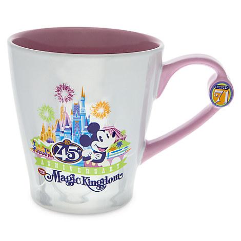 Mickey Mouse Magic Kingdom 45th Anniversary Mug - Walt Disney World