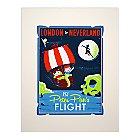 Peter Pan's Flight Retro Poster Deluxe Print