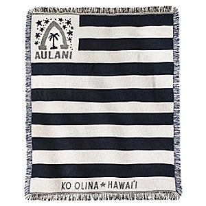 Aulani, A Disney Resort & Spa Beach Throw Blanket – Americana