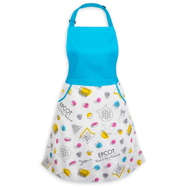 Belle Apron for Adults – Beauty and the Beast – Epcot International Food & Wine Festival 2021