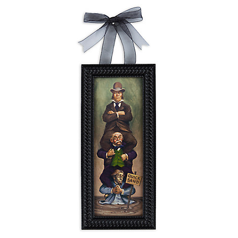 The Haunted Mansion Quicksand ''Stretch Painting'' Framed Giclée on Canvas - Mini