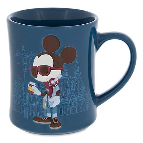 Mickey Mouse Hipster Coffee Mug