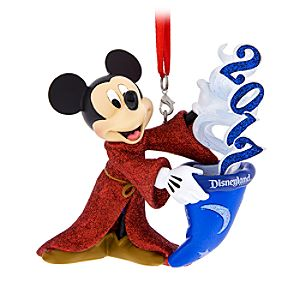 Sorcerer Mickey Mouse Figural Ornament – Disneyland 2017