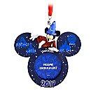 Sorcerer Mickey Mouse Frame Ornament - Disneyland 2017