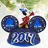 Sorcerer Mickey Mouse Light-Up Ear Hat Ornament - Walt Disney World 2017