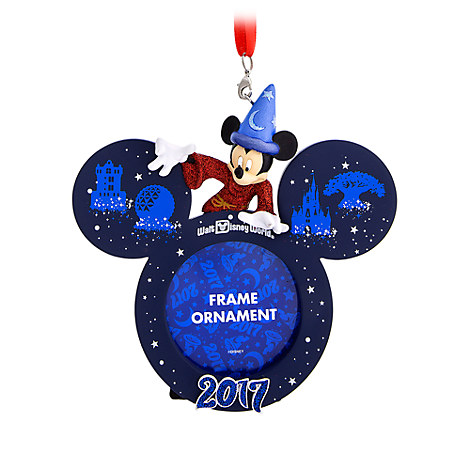 Sorcerer Mickey Mouse Frame Ornament - Walt Disney World 2017