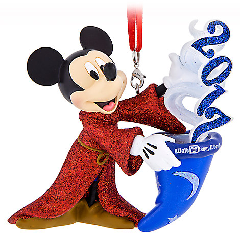 Sorcerer Mickey Mouse Figural Ornament - Walt Disney World 2017