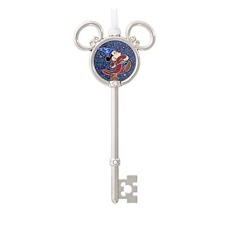 Sorcerer Mickey Mouse Ornamental Key - Disney Parks 2017