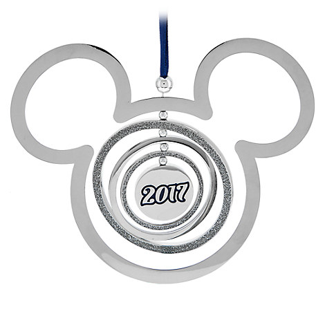 Mickey Mouse Icon Metal Mobile Ornament - Disney Parks 2017