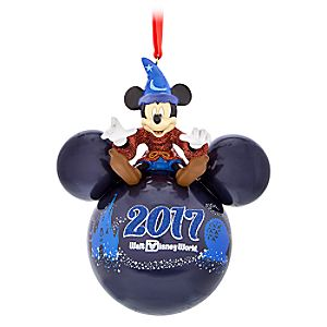 Sorcerer Mickey Mouse Icon Ornament – Walt Disney World 2017