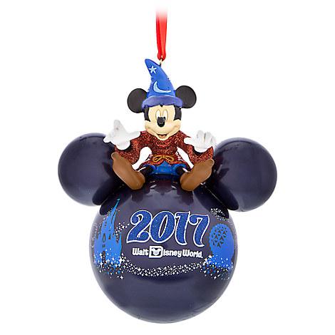 Sorcerer Mickey Mouse Icon Ornament - Walt Disney World 2017