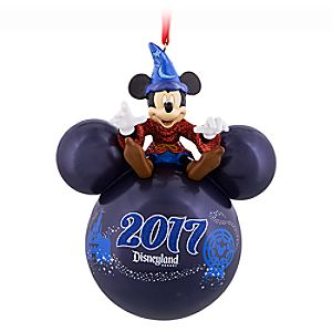 Sorcerer Mickey Mouse Icon Ornament – Disneyland 2017