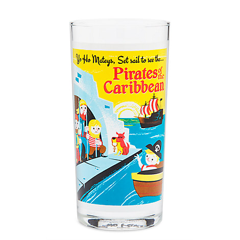 Pirates of the Caribbean Retro Glass Tumbler