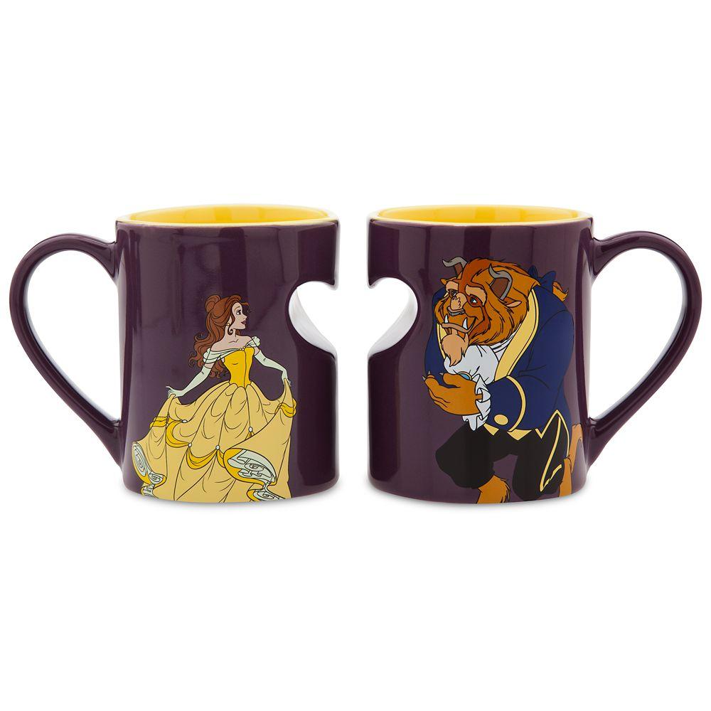Beauty and the Beast Classic Mug Set Official shopDisney