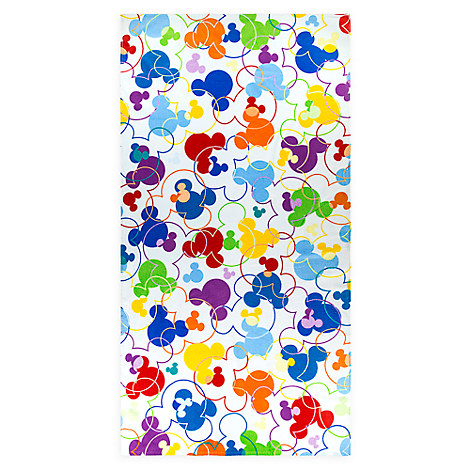 Mickey Mouse Icon Beach Towel