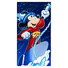 Sorcerer Mickey Mouse Beach Towel