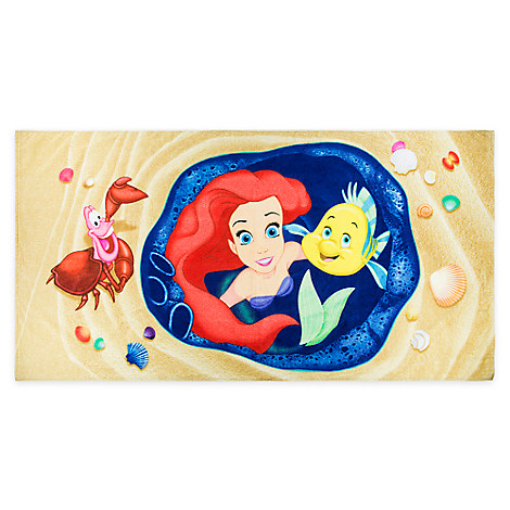 The Little Mermaid Beach Towel