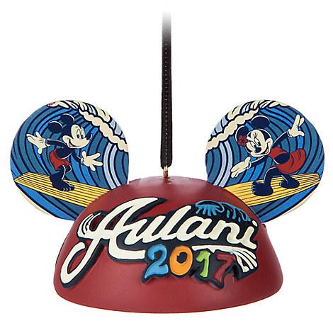Aulani, A Disney Resort & Spa 2017 Ear Hat Ornament
