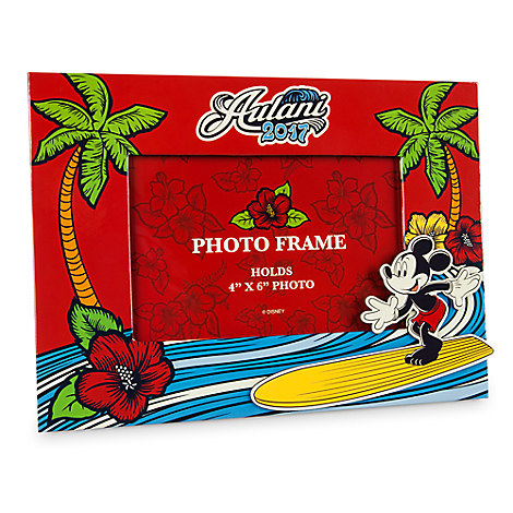 Mickey Mouse Photo Frame - Aulani, A Disney Resort & Spa 2017 - 4'' x 6''