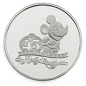 Mickey Mouse Magic Kingdom 45th Anniversary Coin – Limited Edition