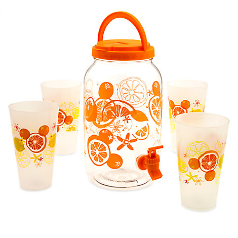 Mickey Mouse Citrus Pitcher Set