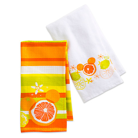 Mickey Mouse Ioon Citrus Kitchen Towel Set