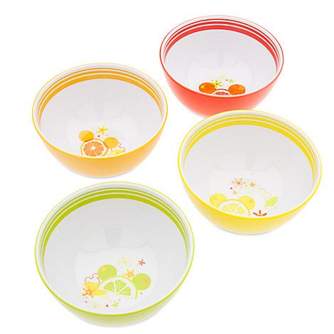 Mickey Mouse Citrus Bowl Set