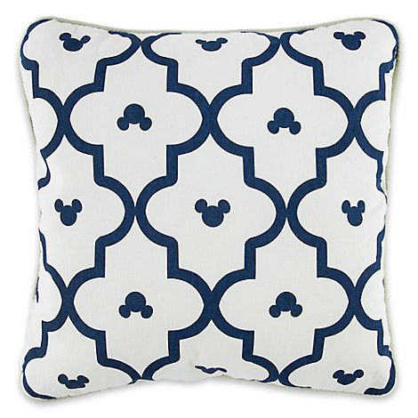 Mickey Mouse Geometric Print Pillow