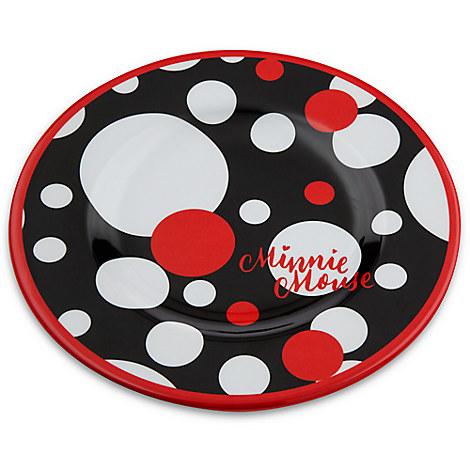 Minnie Mouse Dot Dessert Plate