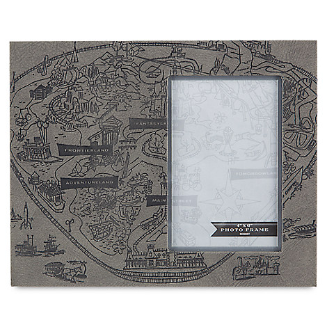 Twenty Eight & Main Map Photo Frame - 4'' x 6''