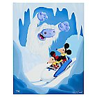 Mickey and Minnie Mouse ''Auf Wiedersehen'' Giclee by Kristin Tercek