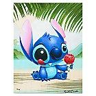 Stitch ''Ono Hau'' Limited Edition Giclée by Kristin Tercek