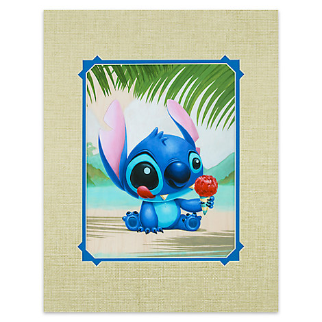 Stitch ''Ono Hau'' Deluxe Print by Kristin Tercek
