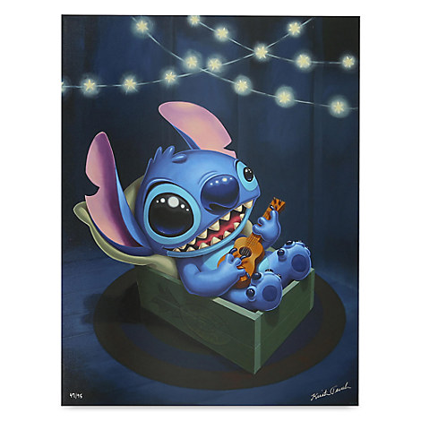 Stitch ''Stitch Serenade'' Limited Edition Giclée by Kristin Tercek