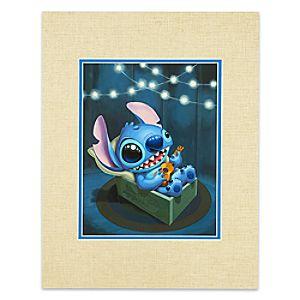 "Stitch ""Stitch Serenade"" Deluxe Print by Kristin Tercek"