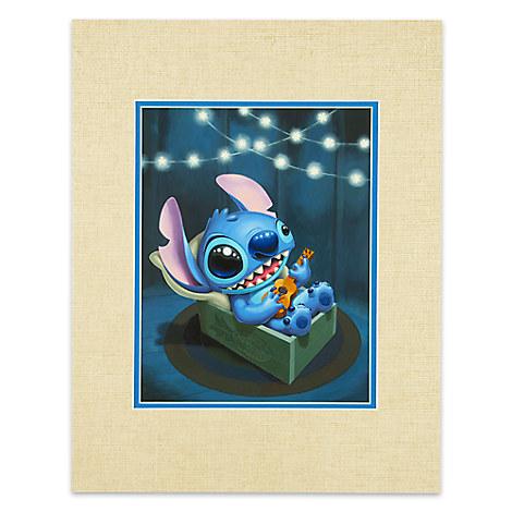 Stitch ''Stitch Serenade'' Deluxe Print by Kristin Tercek