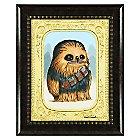 Chewbacca ''Fuzzball'' Limited Edition Framed Giclée by Kristin Tercek