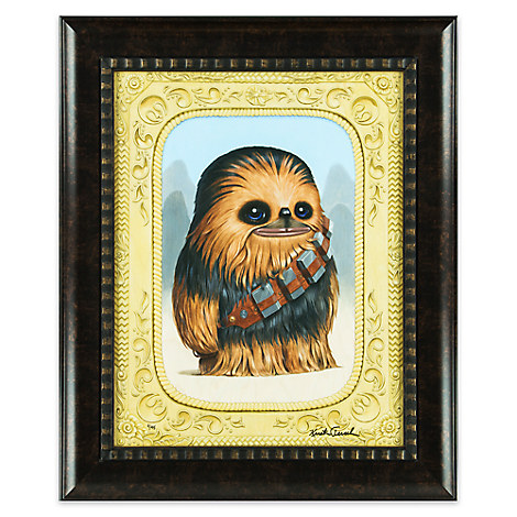 Chewbacca ''Fuzzball'' Limited Edition Framed Giclée by Kristin Tercek