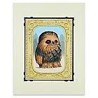 Chewbacca ''Fuzzball'' Deluxe Print by Kristin Tercek