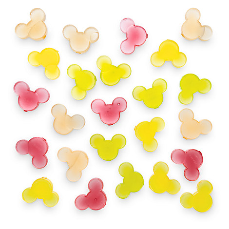 Mickey Mouse Icon Reuseable Ice Cubes - Citrus