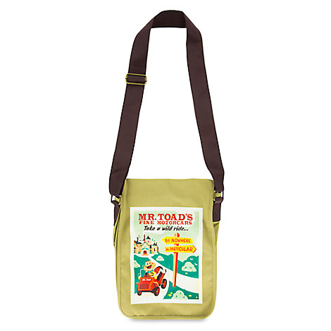 Mr. Toad's Wild Ride Messenger Bag